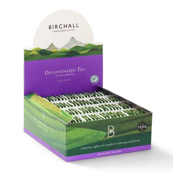 Birchall Tagged Teabags - Decaf Breakfast Tea (1x100)