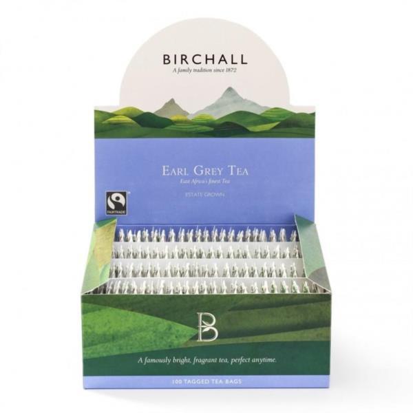 Birchall Tagged Teabags - Earl Grey Tea (1x100)