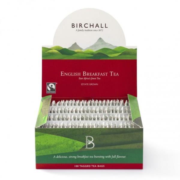 Birchall Tagged Teabags - English Breakfast (1x100)