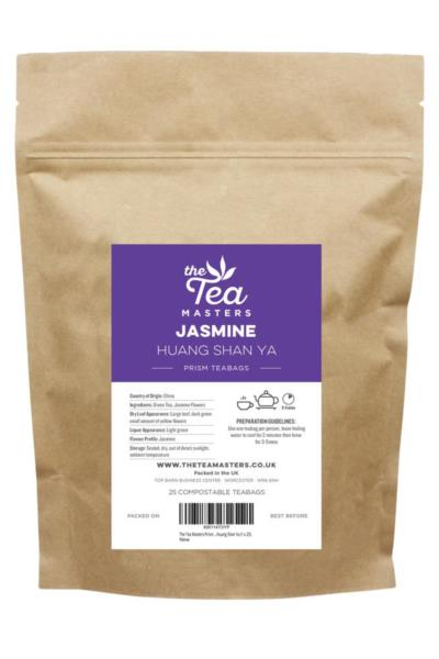 The Tea Masters Prism Teabags - Jasmine Huang Shan Ya (1x25)