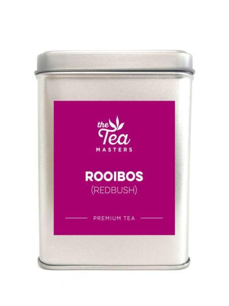 The Tea Masters Storage Tin - Rooibos (Redbush)