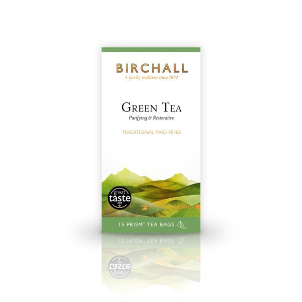 Birchall Prism Teabags - Green Tea (1x15)