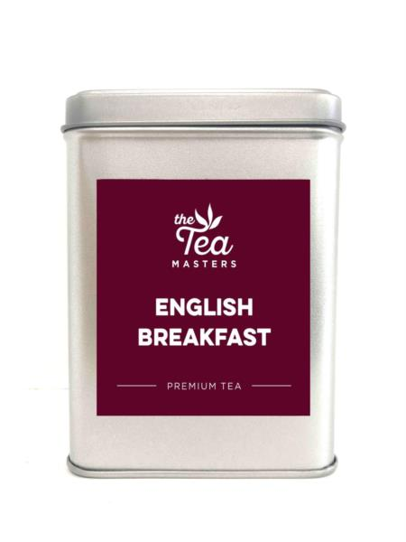 The Tea Masters Storage Tin - English Breakfast