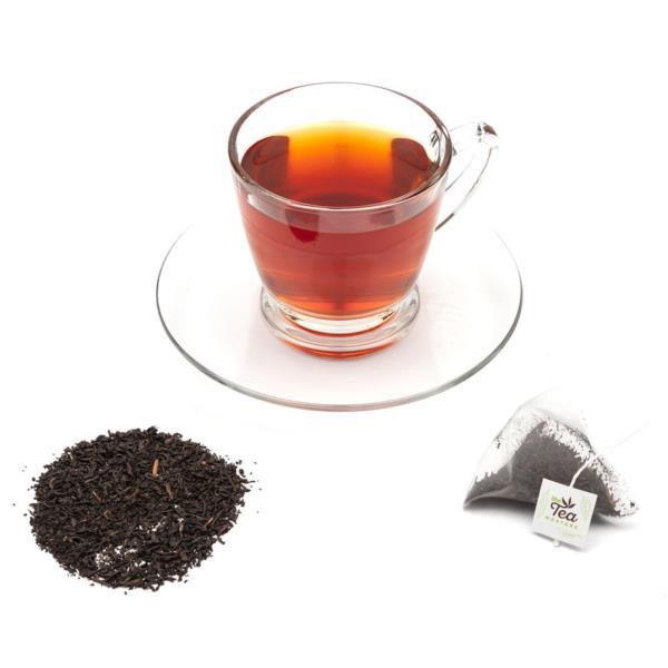 The Tea Masters Prism Teabags - Decaf English Breakfast - Premium (1x25) photo 3