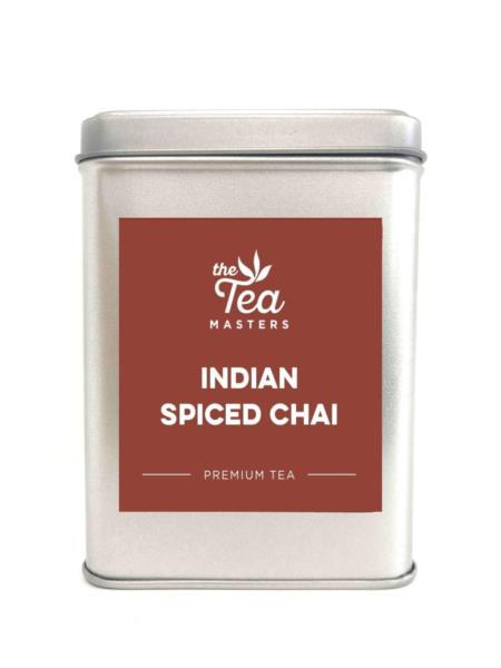 The Tea Masters Storage Tin - Indian Spiced Chai photo 1