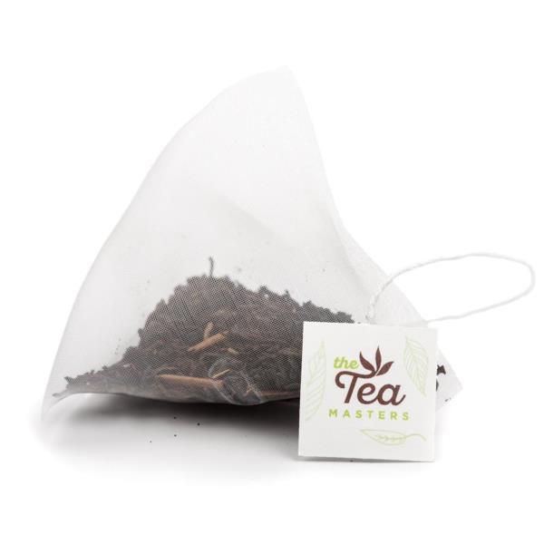 The Tea Masters Prism Teabags - Decaf English Breakfast - Premium (1x25) photo 2