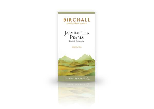 Birchall Prism Teabags - Jasmine Tea Pearls (1x15)