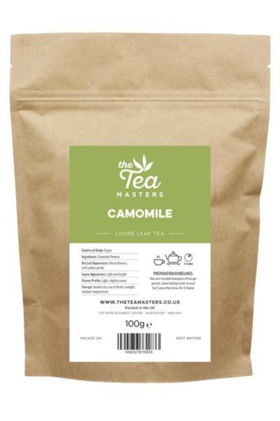 The Tea Masters Loose Leaf Tea - Camomile (1x100g)