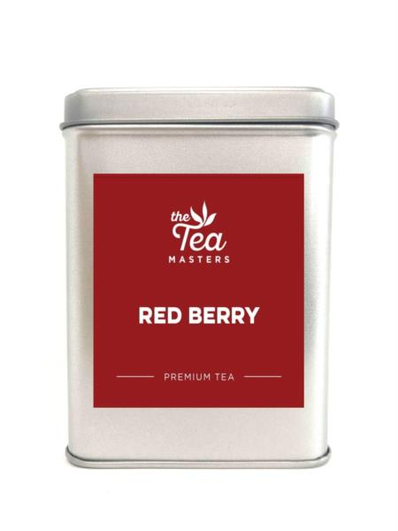 The Tea Masters Storage Tin - Red Berry
