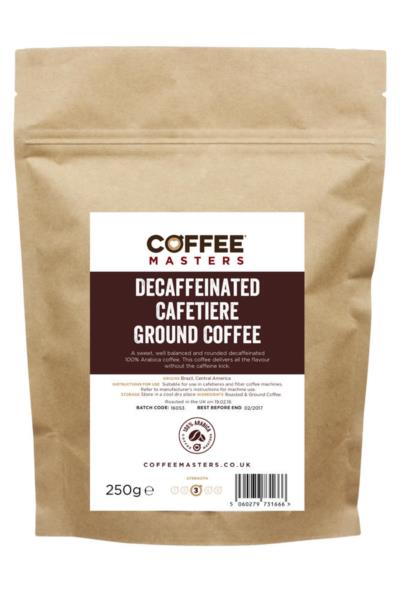 Cafetiere Ground Coffee - Decaf (1x250g)