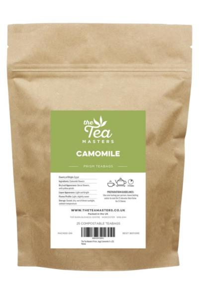 The Tea Masters Prism Teabags - Camomile (1x25)