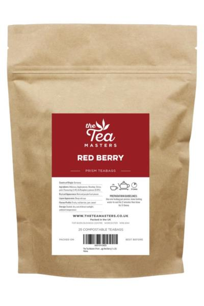 The Tea Masters Prism Teabags - Red Berry (1x25)