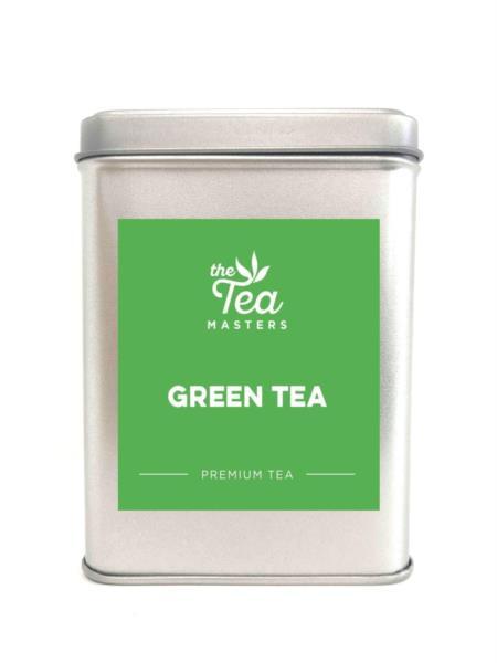 The Tea Masters Storage Tin - Green Tea