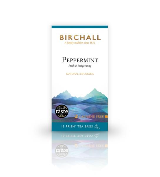 Birchall Prism Teabags - Peppermint (15)