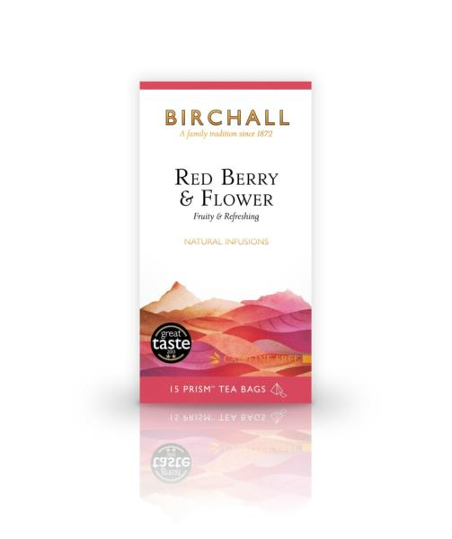 Birchall Prism Teabags - Red Berry & Flower (15)