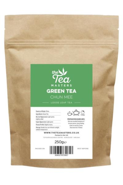 The Tea Masters Loose Leaf Tea - Green Tea - Chun Mee (1x250g)