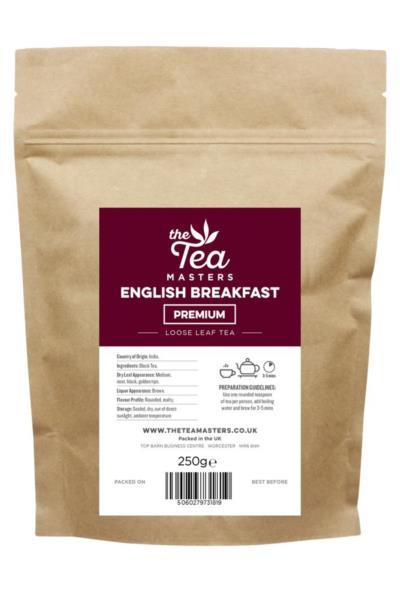 The Tea Masters Loose Leaf Tea - Breakfast Tea - Premium (1x250g)