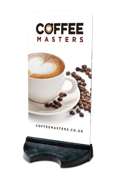 Coffee Masters Branded Pavement Sign