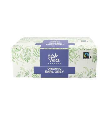 The Tea Masters Organic Tagged Teabags - Earl Grey Tea (1x100) photo 3