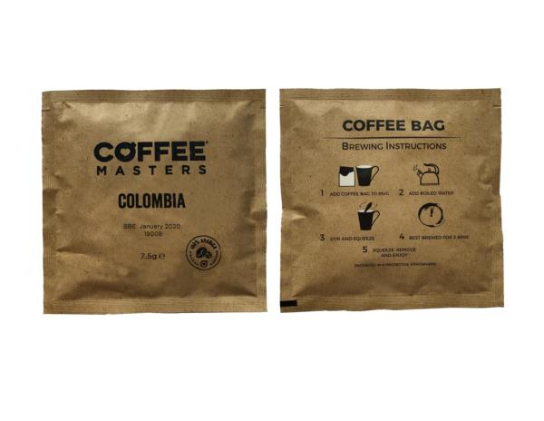 Coffee Masters - Colombia Coffee Bags (100x7.5g)