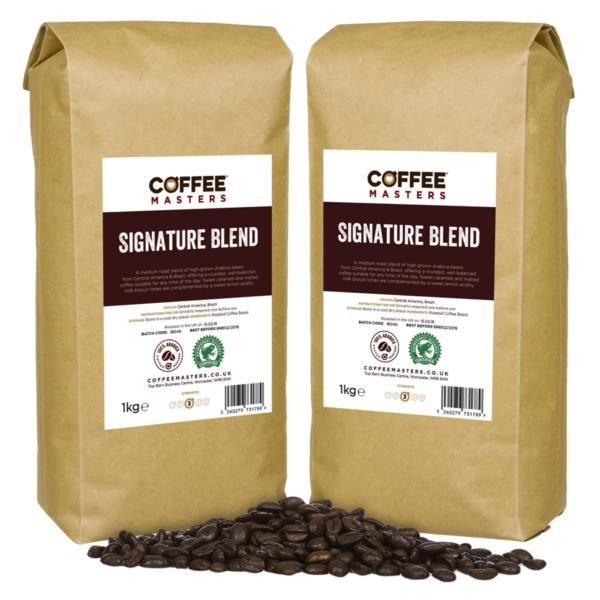 Coffee Masters - Signature Blend Coffee Beans (4x1kg) photo 1