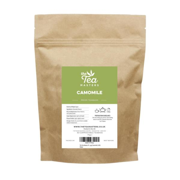 The Tea Masters Prism Teabags - Camomile (1x50)
