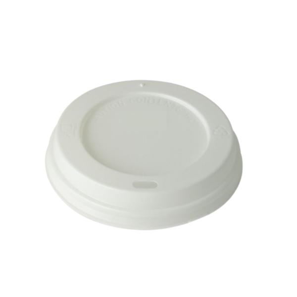 4oz Disposable White Lids (1x100)