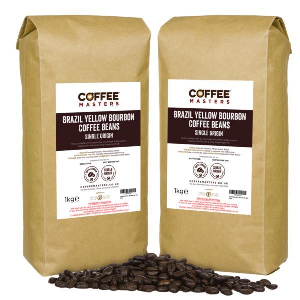 Coffee Beans - Brazil Yellow Bourbon (4x1kg)