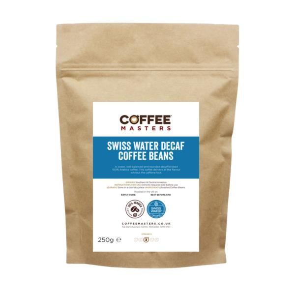 Retail Beans - Swiss Water Decaf Beans (1x250g)