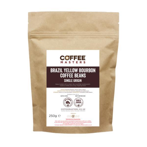 Retail Beans - Brazil Yellow Bourbon (1x250g)