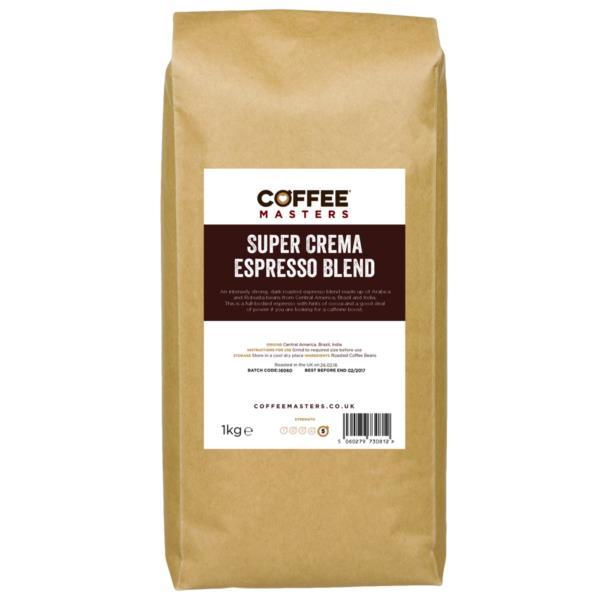 Coffee Beans - Super Crema Blend (1x1kg)