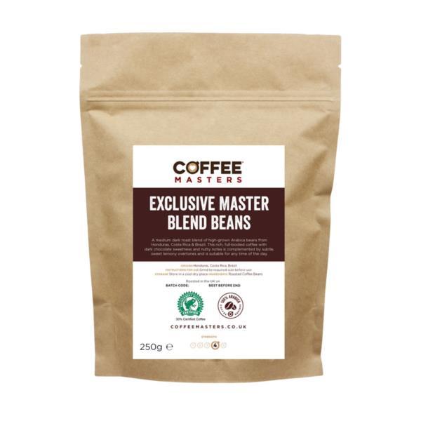 Retail Beans - Exclusive Master Blend (1x250g)