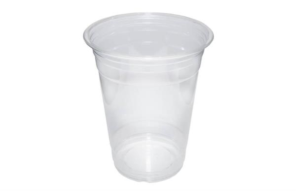 Disposable rPET Smoothie Cups 16oz (80% recycled) (1x1000)
