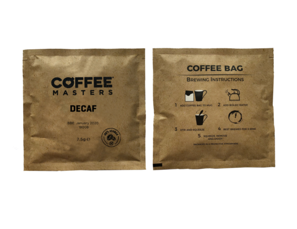 Decaf Coffee Bags (100x7.5g)