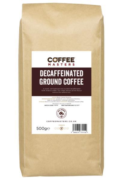 Ground Coffee - Decaf (1x500g)