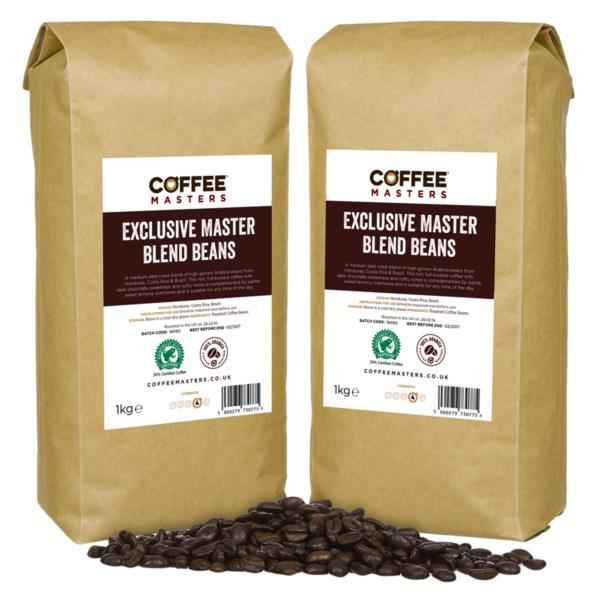 Coffee Beans - Exclusive Master Blend (4x1kg)
