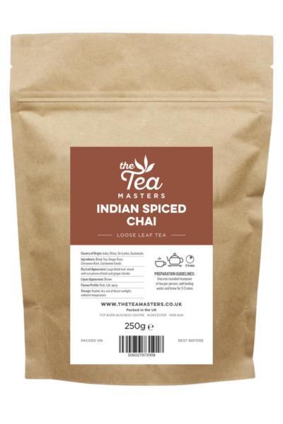 The Tea Masters Loose Leaf Tea - Indian Spiced Chai (1x250g)