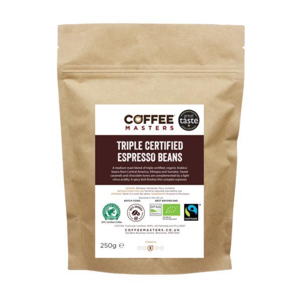 Retail Beans - Triple Certified Organic Blend (1x250g)
