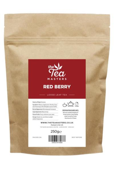 The Tea Masters Loose Leaf Tea - Red Berry (1x250g)