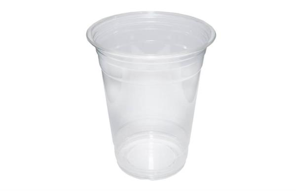 Disposable rPET Smoothie Cups 12oz (80% recycled) (1x1000)