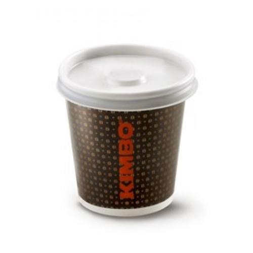 Kimbo Single Wall Espresso Takeaway Cups 4oz (1x50)