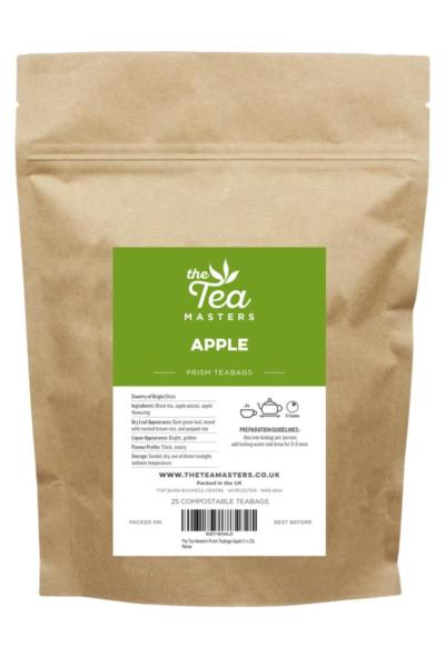 The Tea Masters Prism Teabags - Apple (1x25)