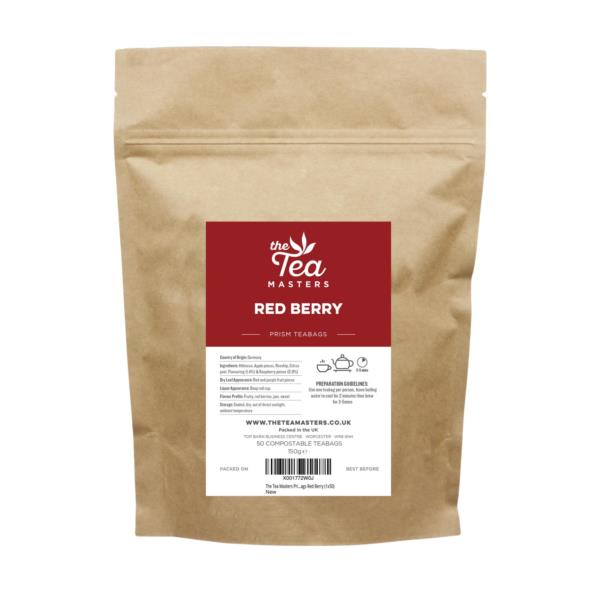 The Tea Masters Prism Teabags - Red Berry (1x50)