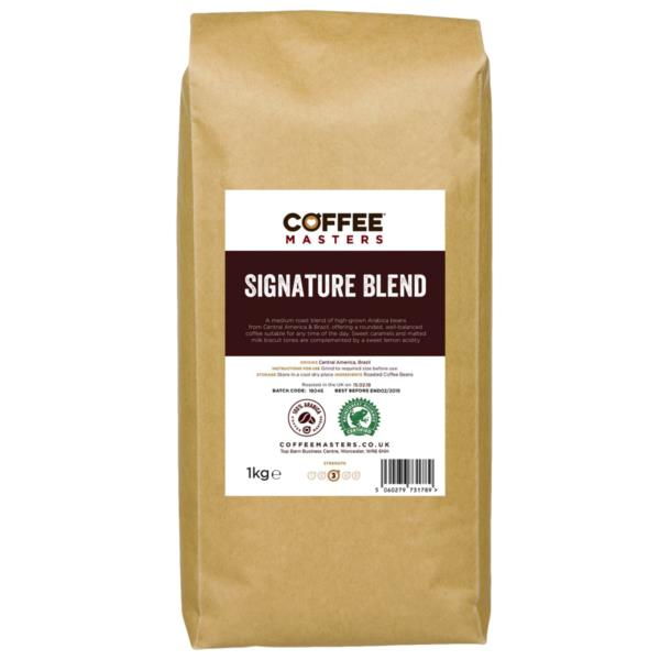 Coffee Masters - Signature Blend Coffee Beans (1x1kg)