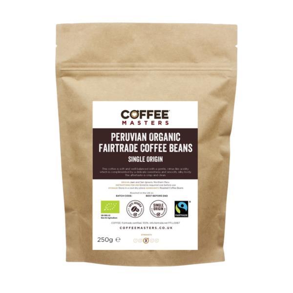 Retail Beans - Peruvian Organic Fairtrade (1x250g)