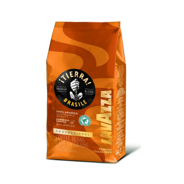 Lavazza Tierra Brazil 100% Arabica Coffee Beans (6x1kg)
