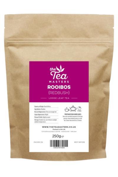 The Tea Masters Loose Leaf Tea - Rooibos (Redbush) (1x250g)