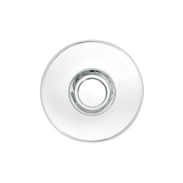 "Premium Glass Saucer - 6"" / 15cm (1x6)"