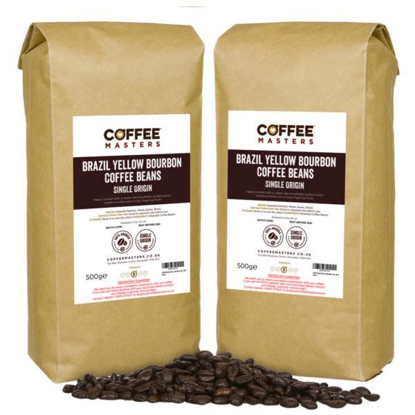 Coffee Beans - Brazil Yellow Bourbon (2x1kg)