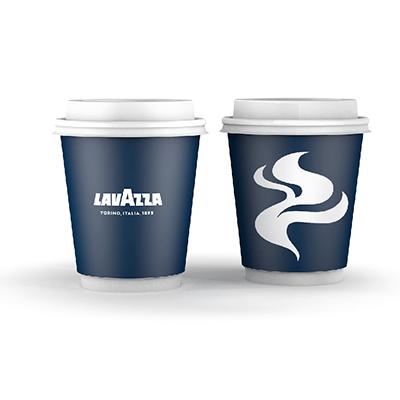 Lavazza 8oz Double Wall Paper Cups (1x26) photo 1
